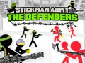 Gry Stickman Army: The Defenders