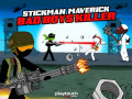 Gry Stickman Maverick: Bad Boys Killer